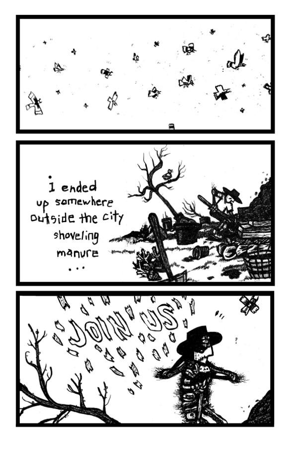 skeleton man, gothic comics online
