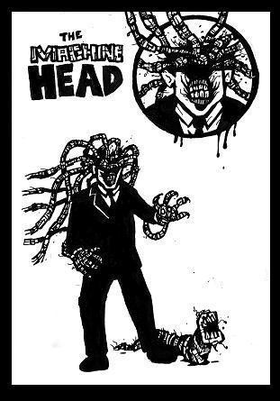 zombie robot,super villain
